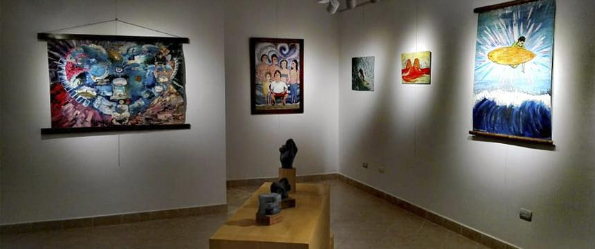 Local | Exposición de arte Fluir Al Origen