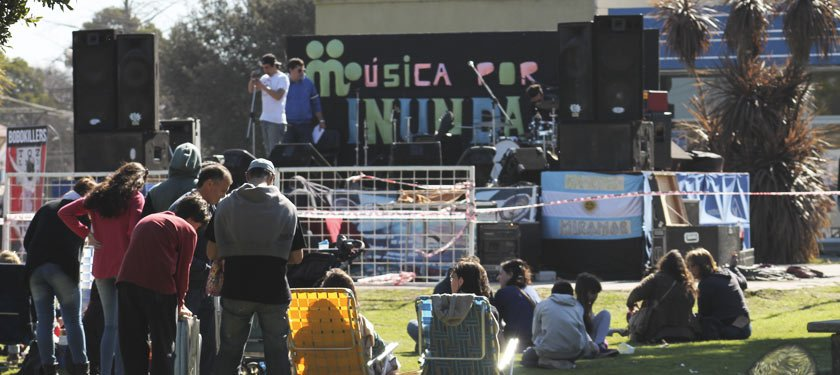 Local | Se realizó recital a beneficio de los Inundados