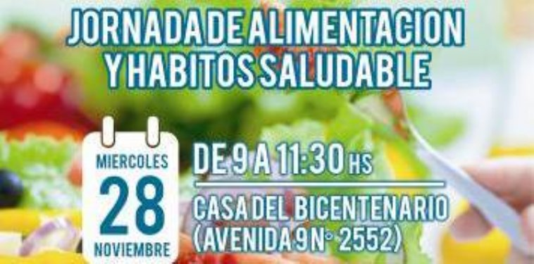 Local | Jornada de alimentación saludable